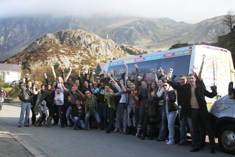 busybus at ogwen valley