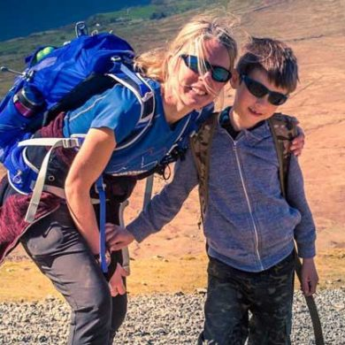 3 Peaks family hike