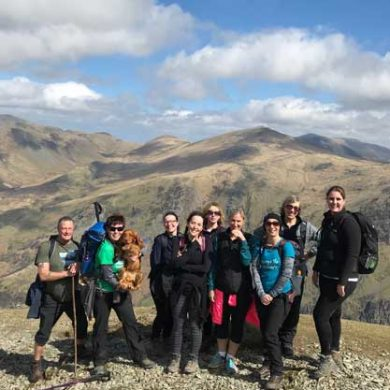 3 Peak team group Snowdon