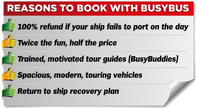 Reason to book with BusyBus