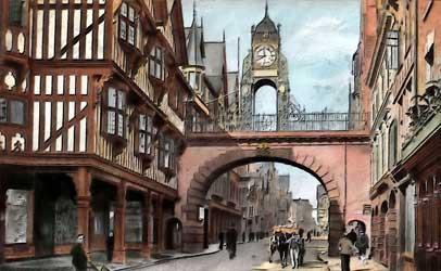 Chester eastgate street