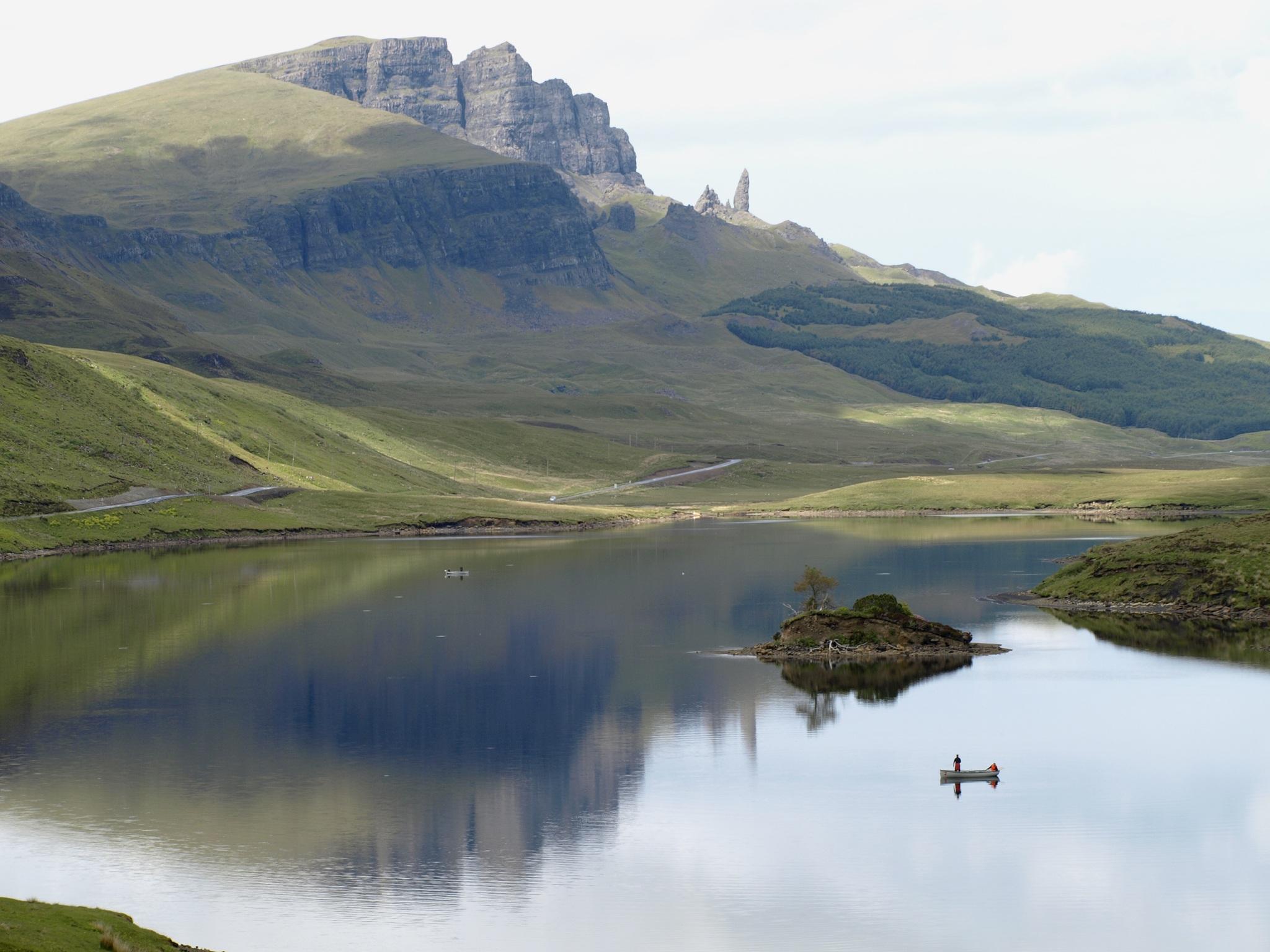 Fishermen on Loch
