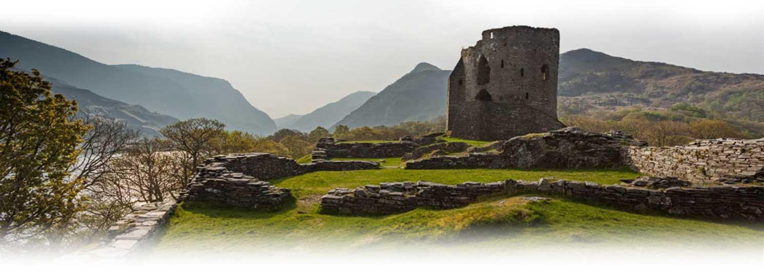 Snowdon castle Llanberis