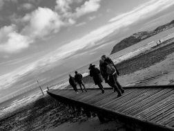 Llandudno beach jetty