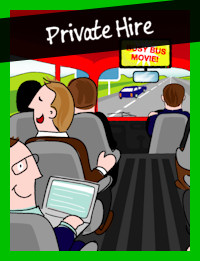 private hire tour bus