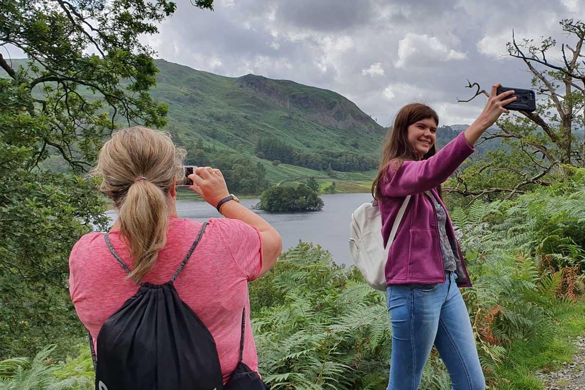 the lakes tour