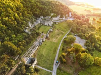 Gwrych Castle Wales - just for I'm a celebrity